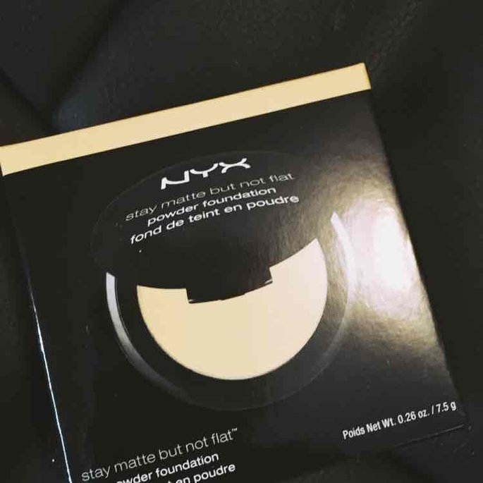 Nyx Cosmetics Stay Matte Powder Foundation uploaded by Tiffany H.