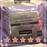 Neutrogena Make-Up Remover Cleansing Towelettes Night Calming uploaded by Lucia A.