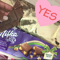 Milka Milk Chocolate with Chopped Hazelnuts Confection uploaded by Nicole T.