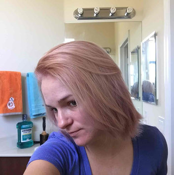 Photo of Feria Multi-Faceted Shimmering Colour Fashion Metallics 822 Medium Iridescent Blonde Hair Color 1 kt Box uploaded by Kristy H.