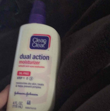 Photo of Clean & Clear® Essentials Dual Action Moisturizer uploaded by Vondah B.