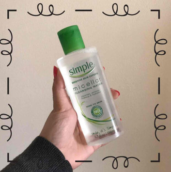 Simple® Micellar Water Cleanser uploaded by lupe b.