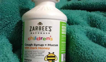 Zarbee's Naturals Children's Grape Cough Syrup + Mucus Relief - 4 oz uploaded by Kylie R.