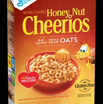 Photo of Cheerios Honey Nut Medley Crunch Cereal uploaded by Andrea C.