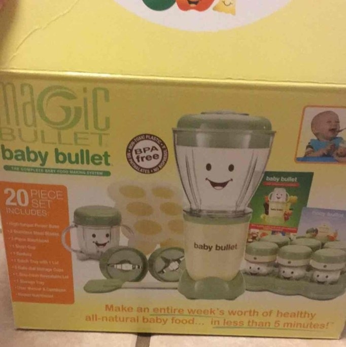 Baby Bullet by Magic Bullet Complete Baby Food Prep System uploaded by Aria H.