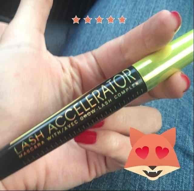 Rimmel Lash Accelerator Mascara Black uploaded by Luz Paola M.
