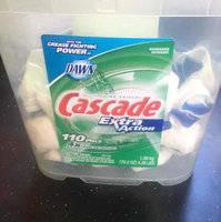 Cascade ActionPacs Fresh Scent Dishwasher Detergent 60 Count uploaded by Diana M.