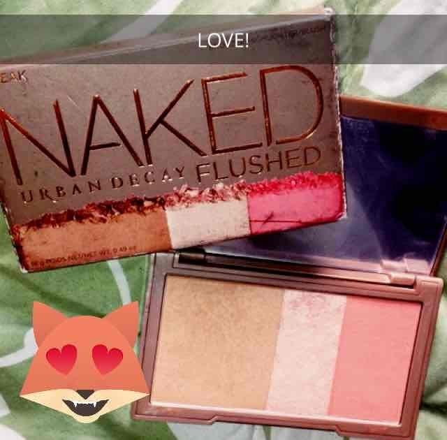 Urban Decay Naked Flushed uploaded by Kelly F.
