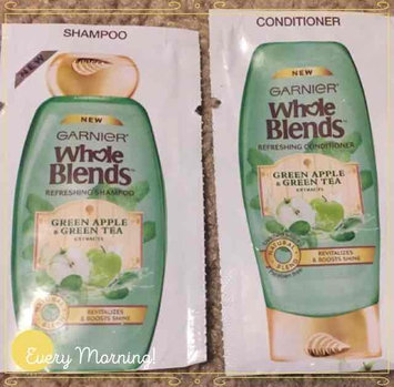 Photo of Garnier Whole Blends™ Green Apple & Green Tea Extracts Refreshing Conditioner uploaded by Stacy S.