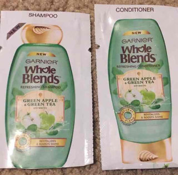 Photo of Garnier Whole Blends™ Refreshing 2-in-1 Shampoo & Conditioner With Green Apple & Green Tea Extracts uploaded by Stacy S.