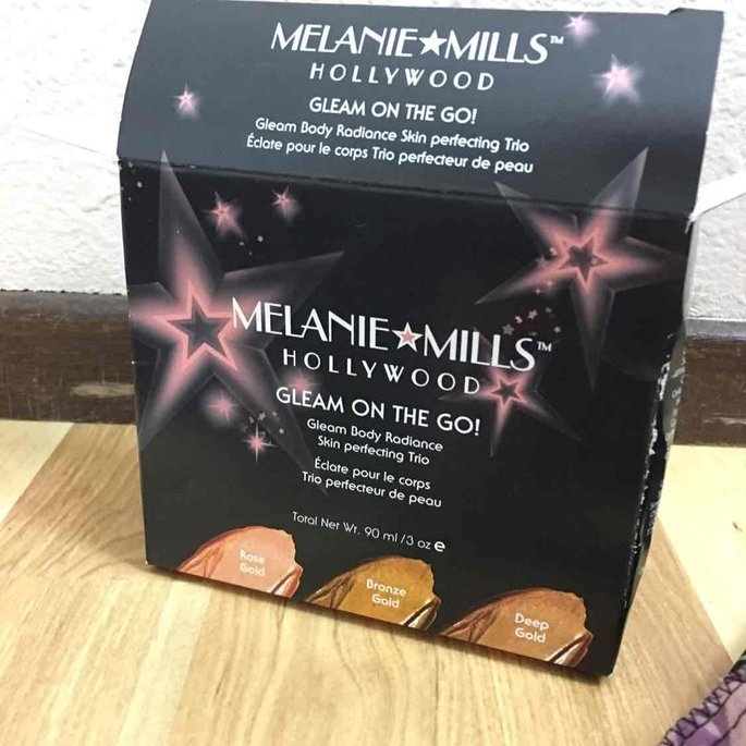 Gleam By Melanie Mills Body Radiance, Deep Gold FG-GM--004, 3.5 Ounce uploaded by Rachelle S.