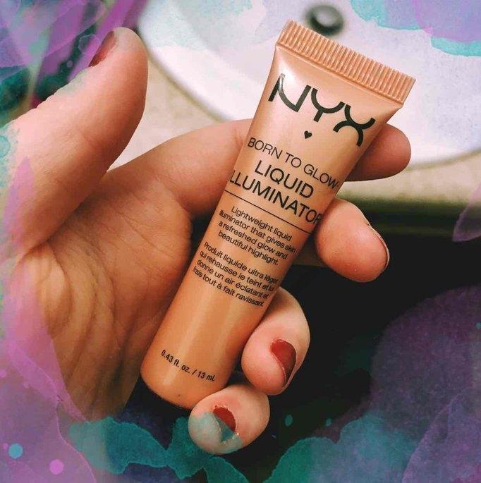 NYX Cosmetics Born to Glow Liquid Illuminator uploaded by Erika D.