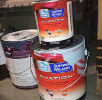 HGTV HOME by Sherwin-Williams Ovation Interior Eggshell Tintable White Latex-Base Paint and Primer in One (Actual Net Contents: 124-fl oz) OV0023001-16 uploaded by erica q.
