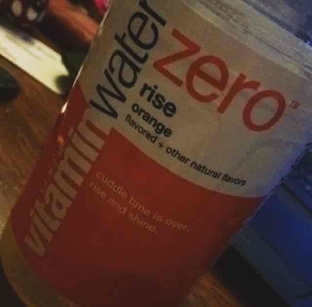 vitaminwater Zero Rise Orange uploaded by Amanda B.