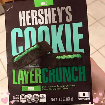 Hershey's Mint Cookie Layer Crunch Chocolate Bars 6.3 oz. Bag uploaded by Rissy C.