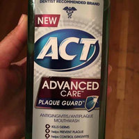 ACT Advanced Care Plaque Guard Clean Mint Mouthwash uploaded by Gina P.