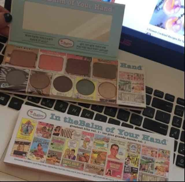 the Balm - In the Balm of Your Hand Greatest Hits Vol 1 Holiday Face Palette uploaded by Gvanca K.