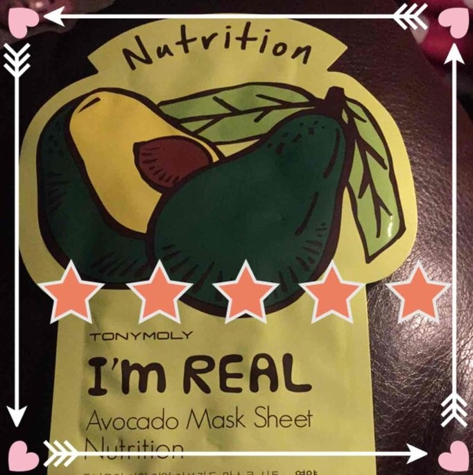 Tony Moly - I'm Real Avocado Mask Sheet (Nutrition) 10 pcs uploaded by Victoria G.