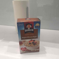 Quaker Instant Oatmeal Maple & Brown Sugar - 10 CT uploaded by Alex R.