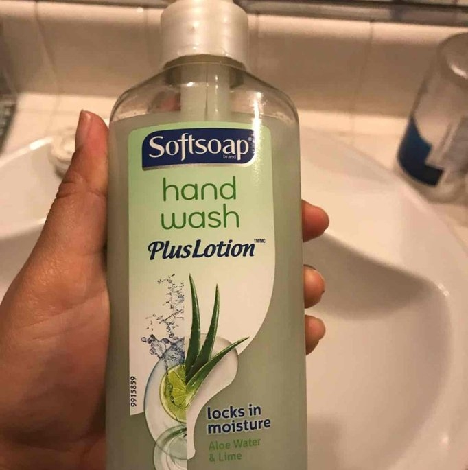 Softsoap Aloe Water and Lime Hand Wash Plus Lotion - 8oz uploaded by Yazmin V.
