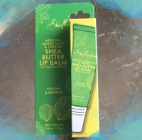 SheaMoisture African Water Mint & Ginger Shea Butter Lip Balm 0.5 oz uploaded by Yadaris M.