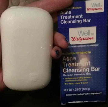 Walgreens Acne Treatment Cleansing Bar uploaded by Gvanca K.