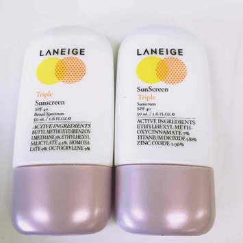 Laneige Triple Sunscreen SPF 40 - 50 ml uploaded by Irene K.