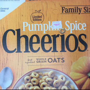 Photo of Cheerios Pumpkin Spice Cereal uploaded by Gabby E.