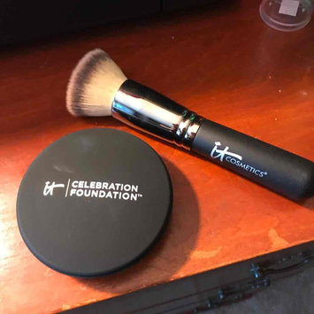 Photo of IT Cosmetics® Heavenly Luxe™ Flat Top Buffing Foundation Brush #6 uploaded by Amanda F.
