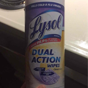 Photo of Lysol Dual Action Disinfecting Wipes uploaded by Melissa J.