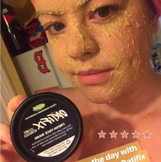 LUSH Oatfix Fresh Face Mask uploaded by Shannon S.
