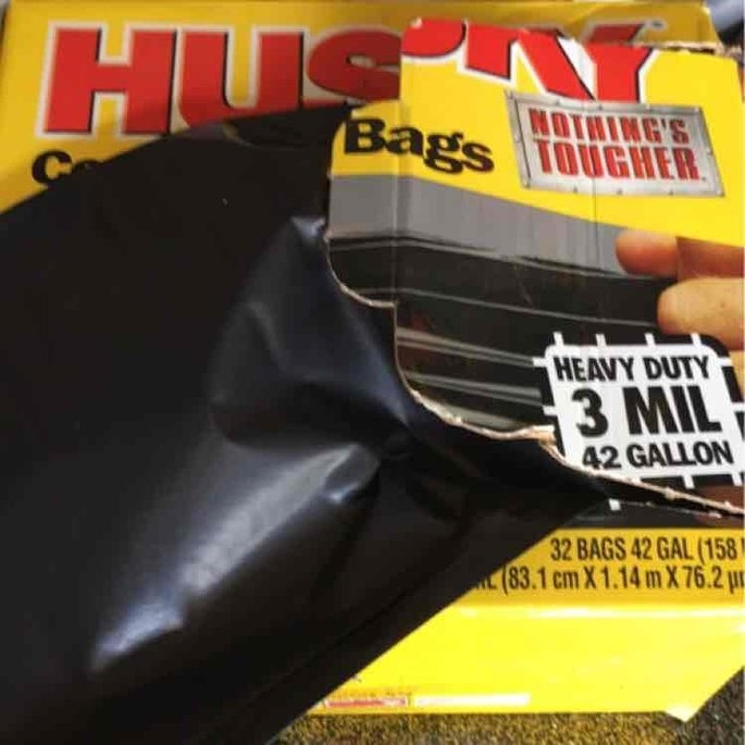 Poly America Husky 42-Gallon Contractor Clean-Up Bags - 32 Count uploaded by Briana J.