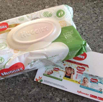 Huggies® Natural Baby Care Wipes uploaded by andrea p.