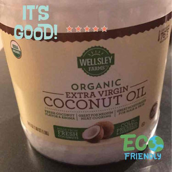Wellsley Farm Organic Coconut Oil, Extra Virgin, 54 Oz Jar uploaded by Sophia A.