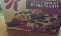 Special K® Kellogg Dark Chocolate Pomegranate Chewy Snack Bars uploaded by Peggy C.