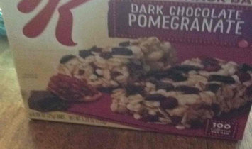 Photo of Special K® Kellogg Dark Chocolate Pomegranate Chewy Snack Bars uploaded by Peggy C.