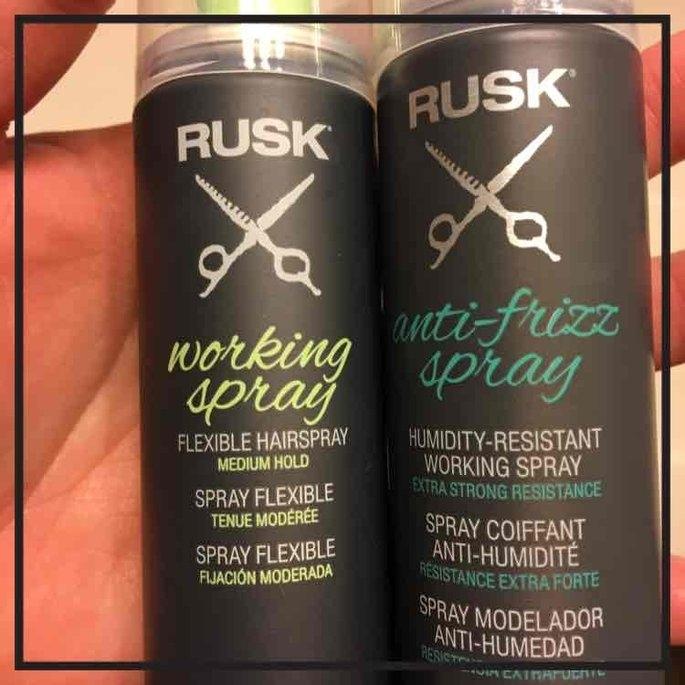 RUSK Working Spray - 10 oz. uploaded by Melissa W.
