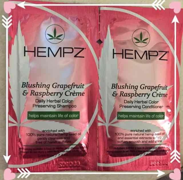 Hempz Blushing Grapefruit & Raspberry Creme Color Preserving Herbal Shampoo uploaded by Stacy S.