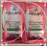 Hempz Blushing Grapefruit & Raspberry Creme Color Preserving Herbal Conditioner uploaded by Stacy S.