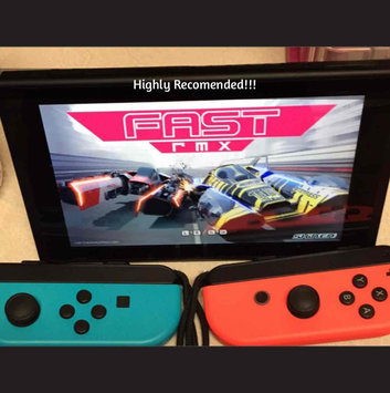 Photo of Nintendo Of America - Switch 32GB Console - Neon Red/neon Blue Joy-con uploaded by Amber P.