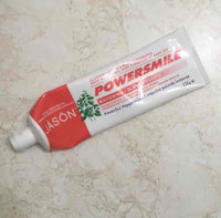 JASON Powersmile® Whitening Toothpaste Powerful Peppermint uploaded by Rebecca M.