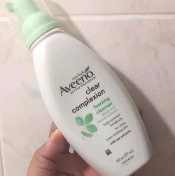 Photo of Aveeno Clear Complexion Foaming Cleanser uploaded by Iraida Liz T.