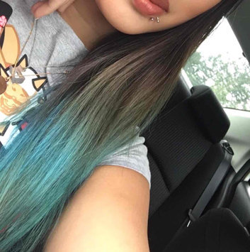 Photo of Ion Color Brilliance Brights Semi-Permanent Hair Color Shark Blue uploaded by Christine T.