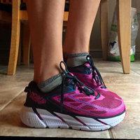 Hoka One One Women's W Bondi 4 Running Shoe [Grey/Hawaiian Ocean, 7 B(M) US] uploaded by Stephanie M.