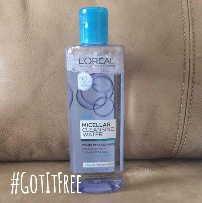 L'Oreal Paris Micellar Cleansing Water for Normal to Oily Skin 13.5 fl. oz. Bottle uploaded by Paola A.