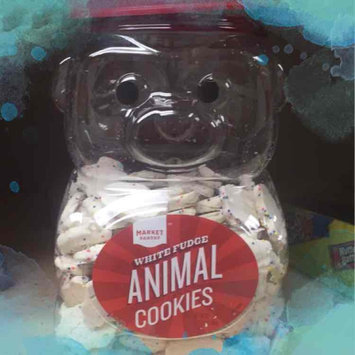 Photo of Stauffer Biscuit Company Market Pantry Frosted White Fudge Animal Cookie Jug 44 oz uploaded by Tara N.