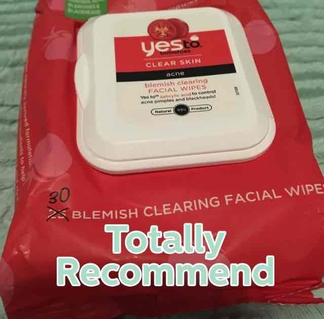 Yes to Tomatoes Blemish Clearing Facial Wipes uploaded by Patricia C.