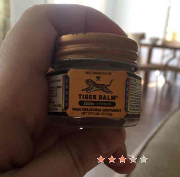 Photo of Tiger Balm Ultra Strength Ointment uploaded by Julianne B.