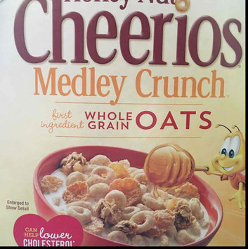 Photo of Cheerios Honey Nut Medley Crunch Cereal uploaded by Ann C.