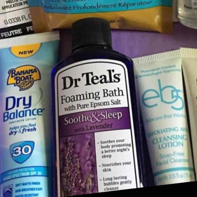 Dr. Teal's Foaming Bath, Soothe & Sleep with Lavender 34 fl oz uploaded by Heather F.